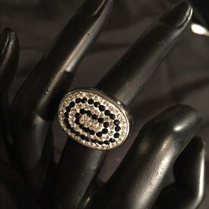 Diamond & Onyx Ring